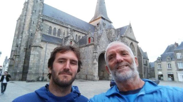 With Baptiste at Guerande